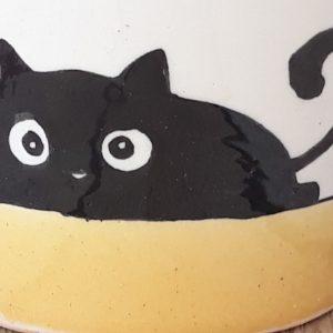 Kerámia bögre fekete macska motívummal #13 – 2,3dl