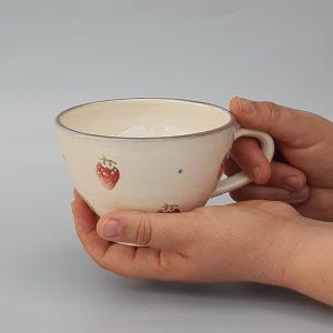 Epres kerámia csésze – 3 dl