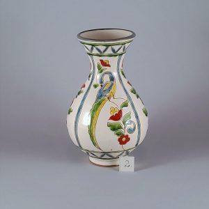 """""""Keleti"""" stílusú váza madaras-virágos dekorral – 2"""