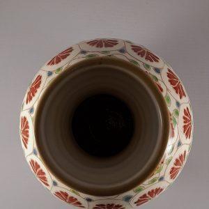 """""""Keleti"""" stílusú váza szegfű dekorral – 10"""